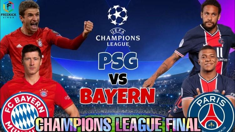 UCL final: PSG vs Bayern Munich line-ups | Access24
