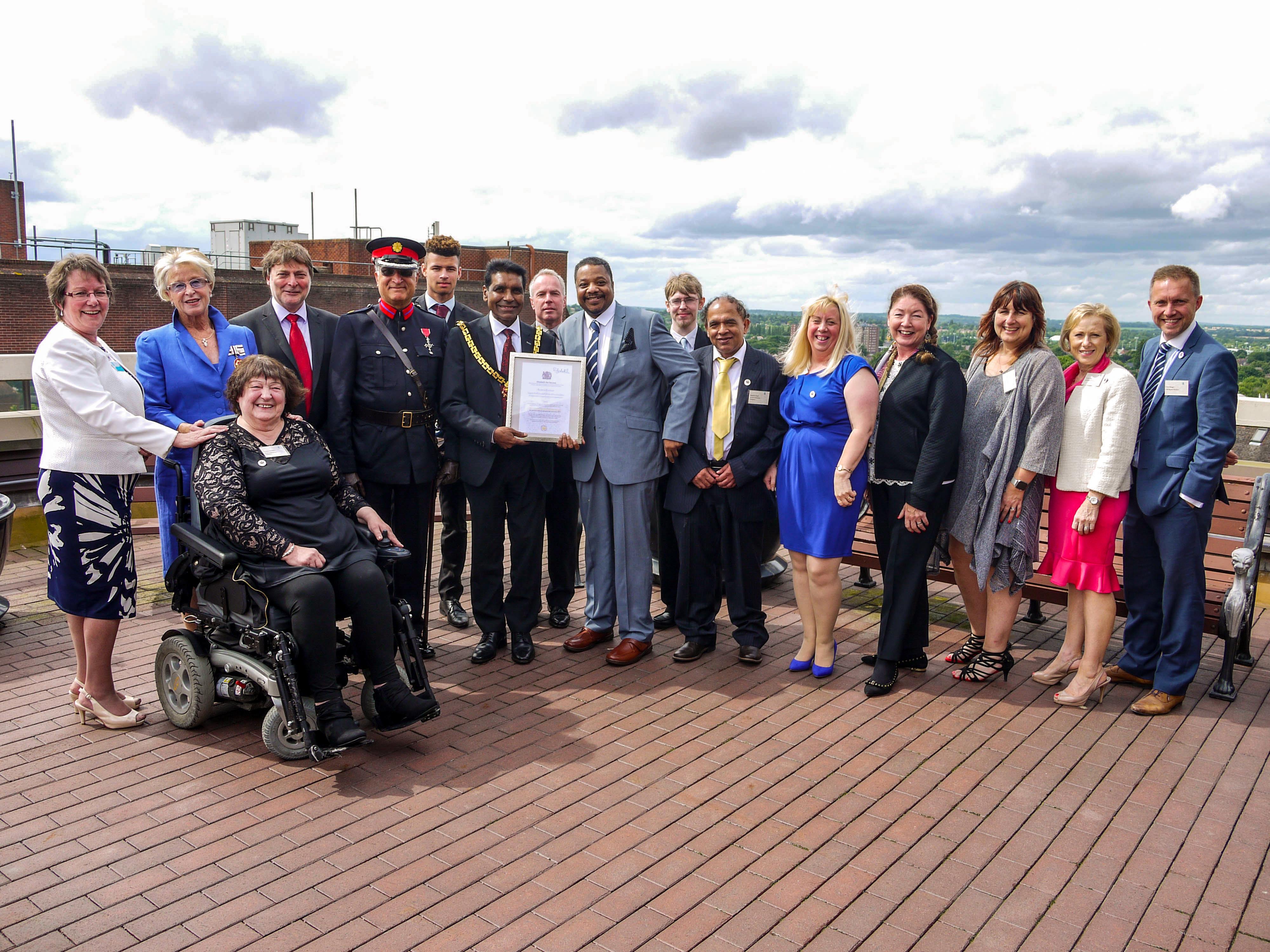 Queen, Voluntary Service, employment, skills, confidence, mayor, Wolverhampton Council, Wolverhampton
