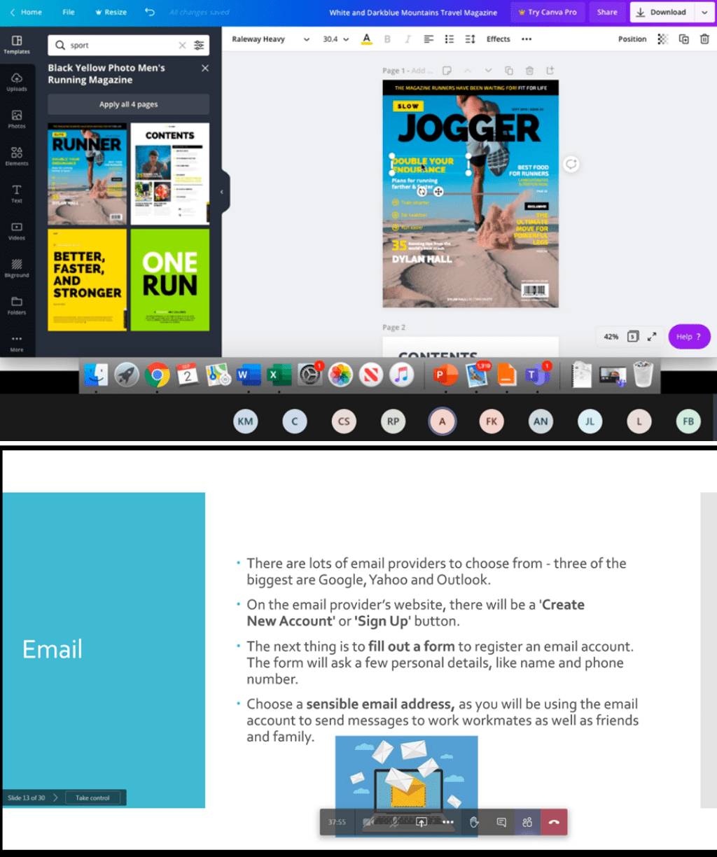 Canva, design tool, Support, employment, training, skills, building, skills building, skills building, work, confidence, project,man, men, case study, success story, successful, achievement,