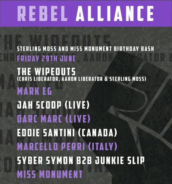Rebel Alliance June 18 B
