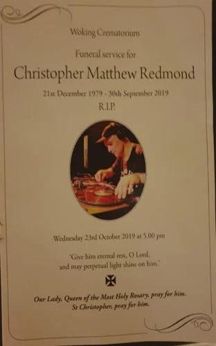 Chris Redmond