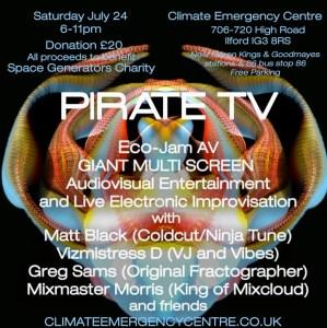 Pirate TV Eco-Jam AV