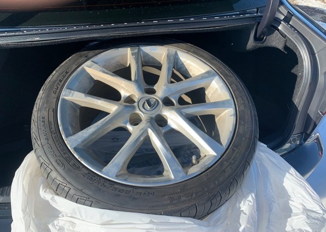 2011 LEXUS IS250 Alloy wheels