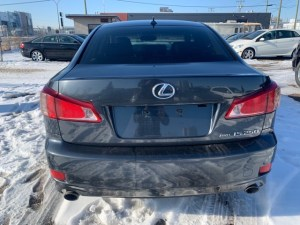 2011 LEXUS IS250 Rear