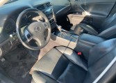 2011 LEXUS IS250 DRIVER INTERIOR