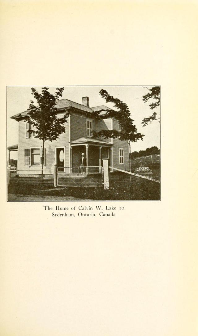The Home of Calvin W. Lake 10 - Sydenham, Ontario, Canada