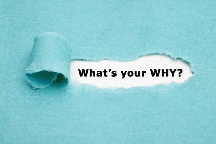 "A piece of paper reads, ""what's your why?"" This question is asked in career counseling in Houston, TX with Accessible Career."