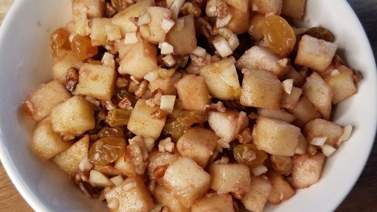 bowl of haroset