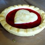 jam tarts with pastry heart