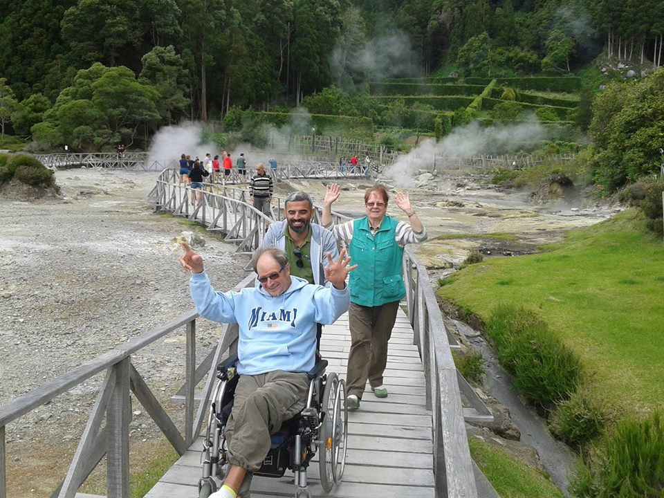 azores for all wheelchair boardwalk