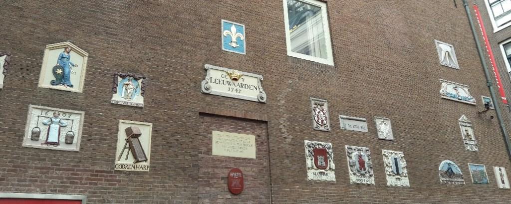 Amsterdam wall city centre netherlands