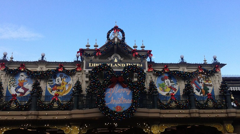 disneyland paris xmas