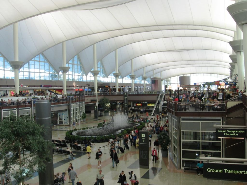 Denver International Airport USA