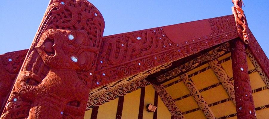 Tamatekapua MeetingHouse Maori New Zealand