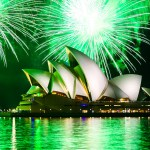 sydney opera house fireworks australia