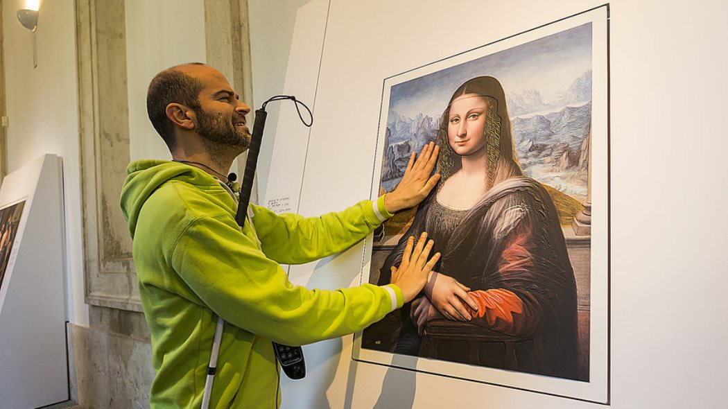 museum italy art by touch visually impaired