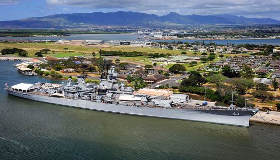 uss ship missouri hawaii usa