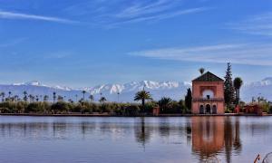 jardin menara marrakech morocco