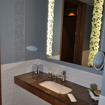 Hilton Rotterdam bathroom