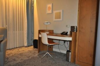 Hilton room desk