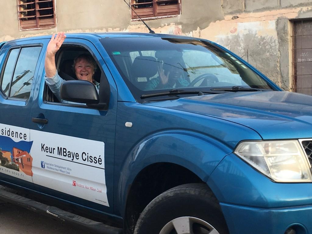 senegal accessible taxi van