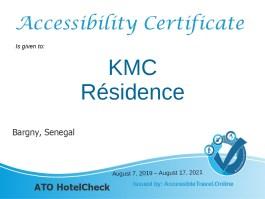 KMC Residence in Senegal