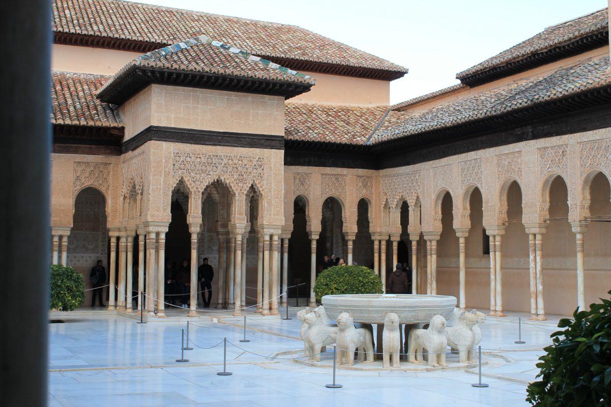 alhambra court spain