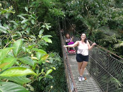 nell hanging bridges costa rica