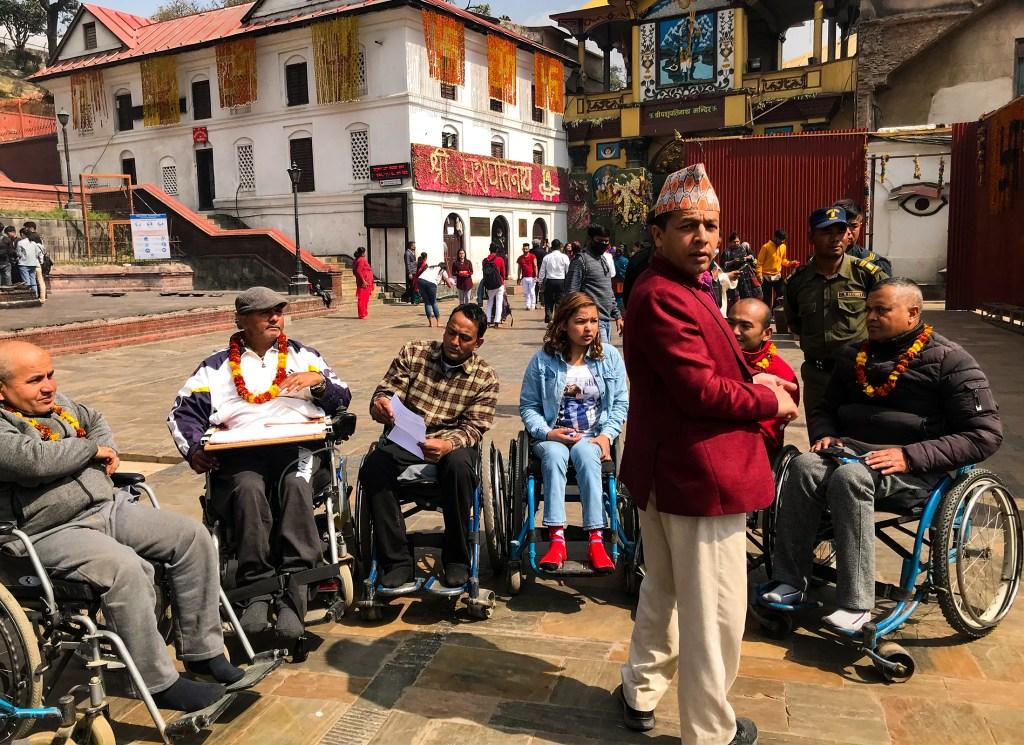 pasupatinath tour in wheelchair