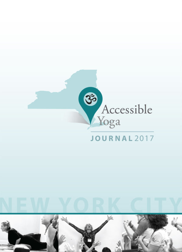 Cover of the NYC 2017 Accessible Yoga Journal