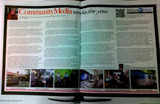 Access Sacramento Featured In September Issue of Senior Mag Live
