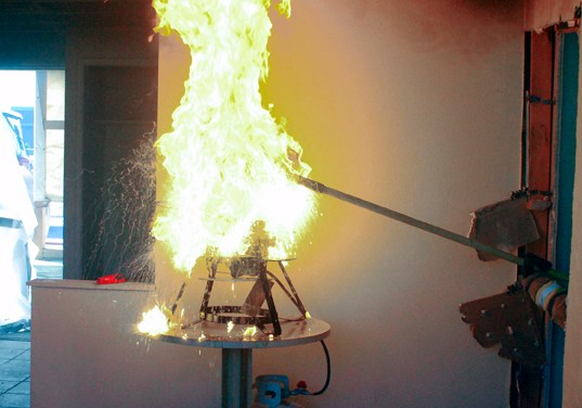 Sacramento Metro Fire demos how NOT to put out a grease fire
