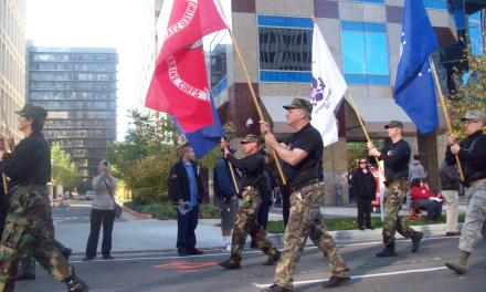 Veterans Day Parade draws interesting people and organizations