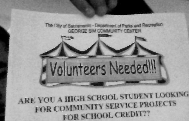Volunteers needs this holiday season