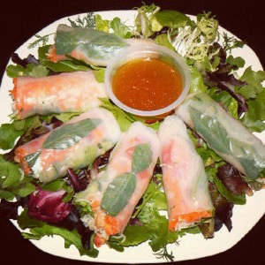 How to make Spring roll's in 5 easy steps