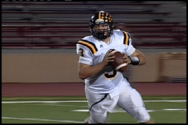 Rio Linda's QB Stephen Andrews completed 5 of 7 passes for 83 yards and a touchdown.