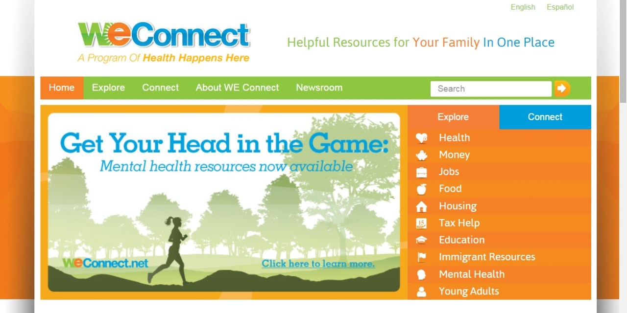 Weconnect.net Provides Links To Community Resources