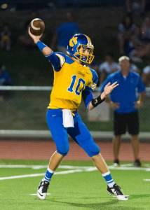 Del Campo Quarterback Ben Purcell [Courtesy: SacBee.com]