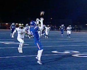 Folsom's Drake Stallworth pulls in a 43-yard catch, setting up a 2nd quarter touchdown.
