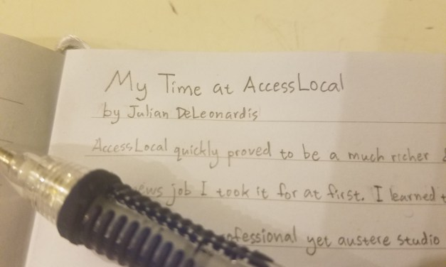 My Time At AccessLocal – By Julian DeLeonardis