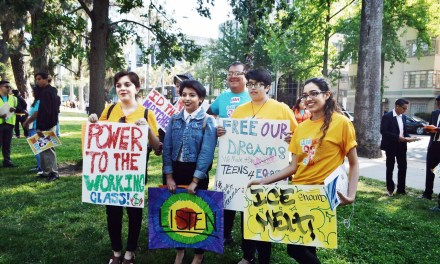Youth Flock To Sacramento For Free Our Dreams 2017