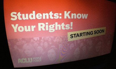 VIDEO: Know your rights as a student advocate