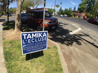 VIDEO: District 5 City Council Candidate, Tamika L'Ecluse, Meets Neighbors For Coffee and Conversation