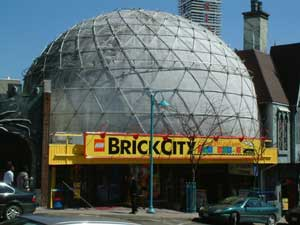 Brick City on Clifton Hill in Niagara Falls