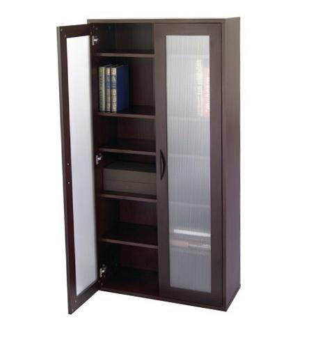 6 Shelf Bookcase With Doors