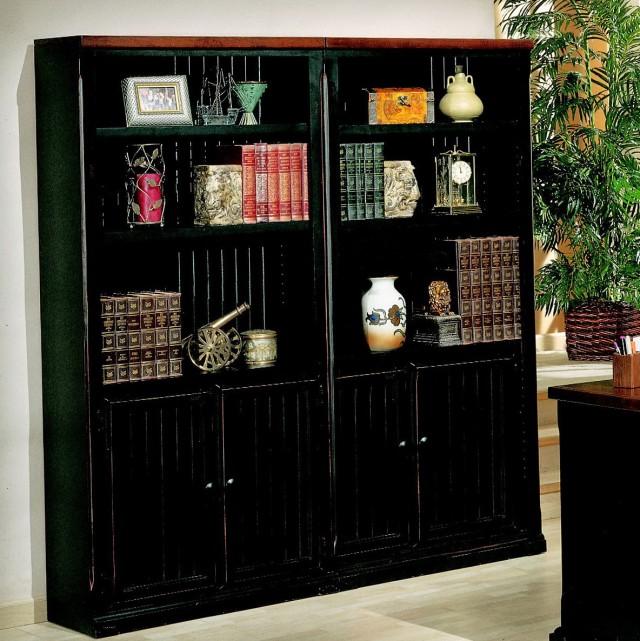 Black Bookshelf With Books