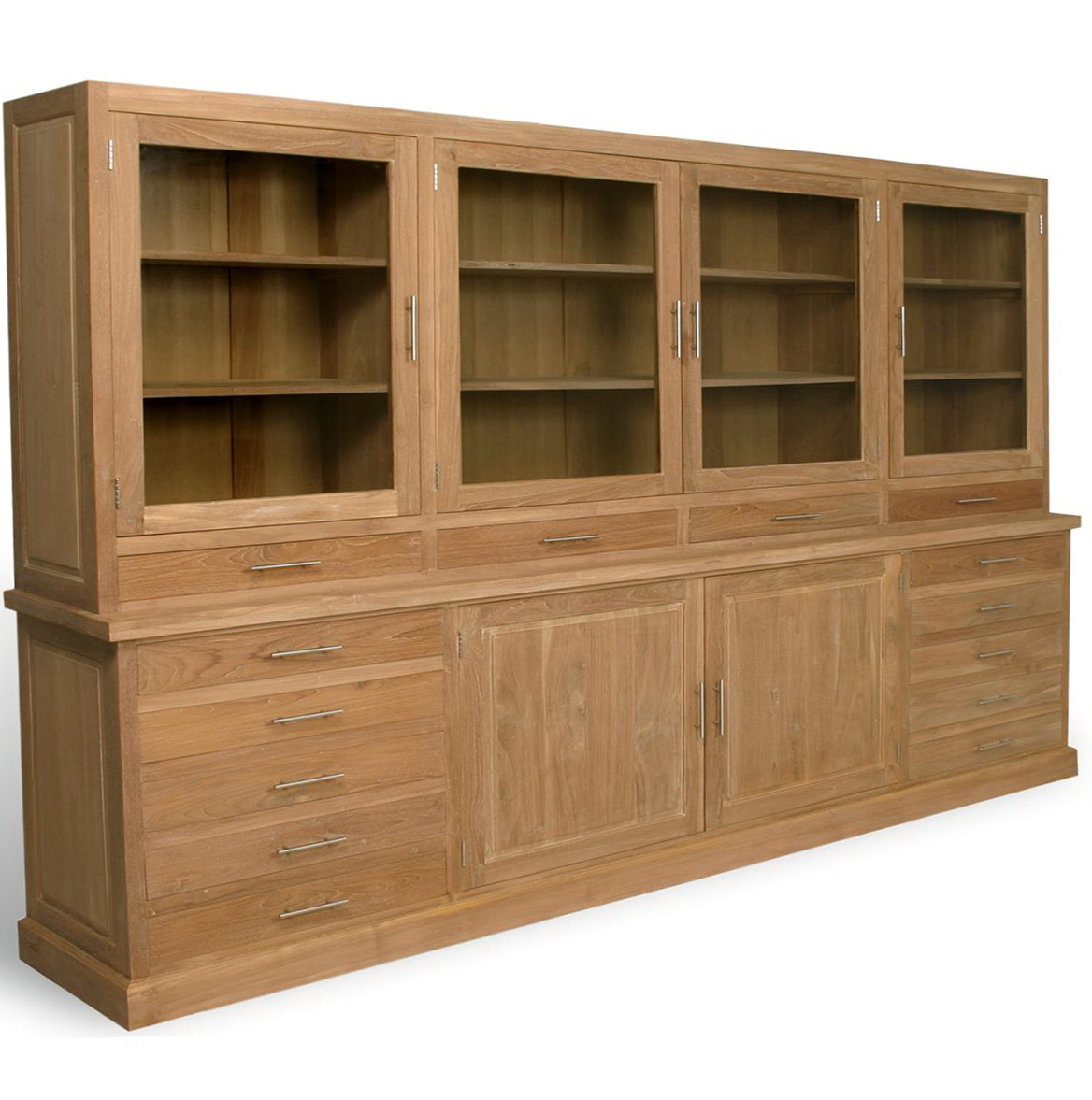 Bookcases With Glass Doors And Drawers