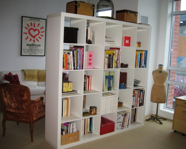 Bookshelf Room Divider Ideas
