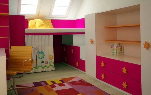 Bookshelves For Kids Room