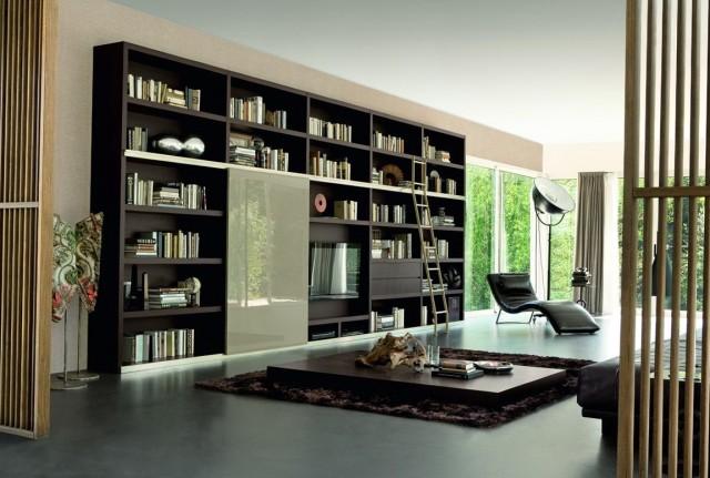 Built In Bookshelf Corner